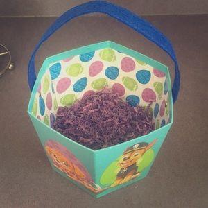Paw Patrol Easter Basket / Bin